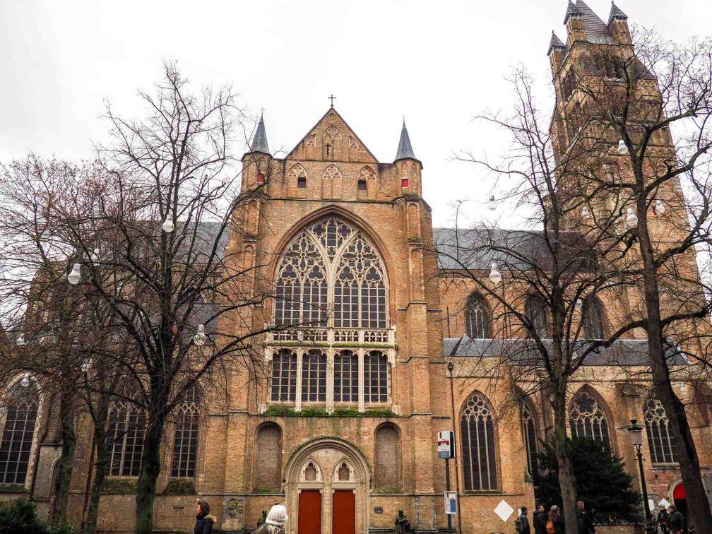 Собор Святого Спасителя Брюгге БРЮГГЕ (БЕЛЬГИЯ) bruges saint saviours cathedral
