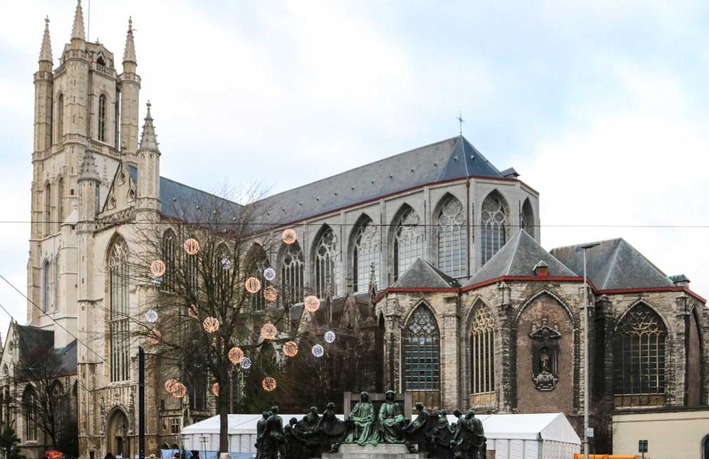 Собор Святого Бавона Как увидеть Гент за один день (или полдня) Как увидеть Гент за один день (или полдня) ghent bavos cathedral