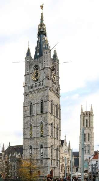 колокольня Как увидеть Гент за один день (или полдня) Как увидеть Гент за один день (или полдня) ghent belfry