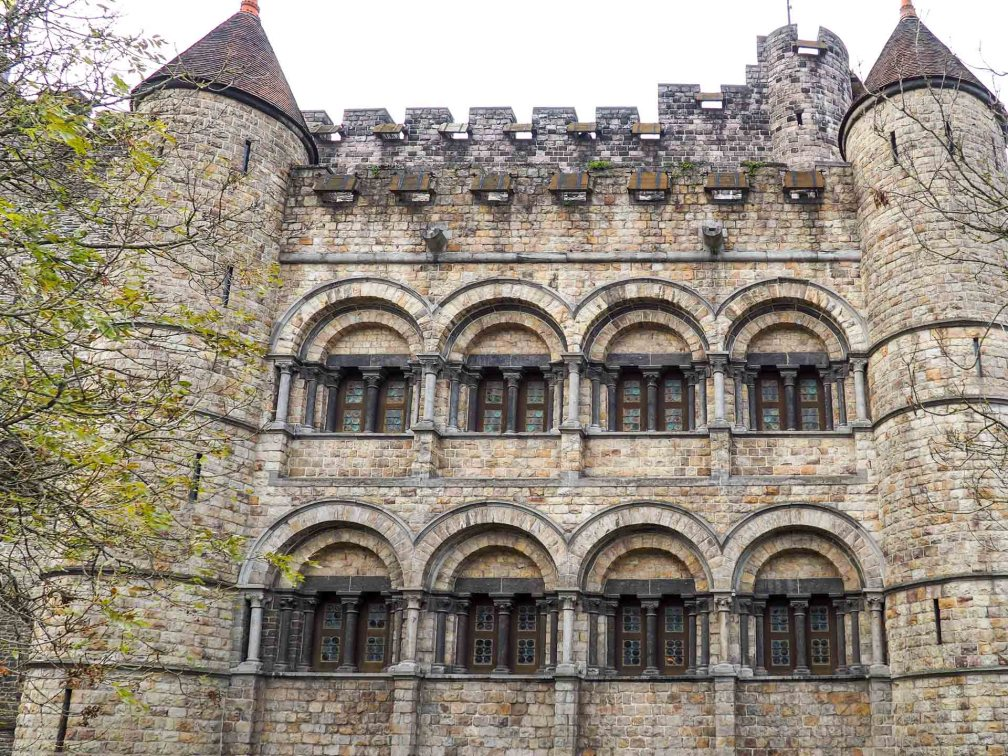 Графский замок Как увидеть Гент за один день (или полдня) Как увидеть Гент за один день (или полдня) ghent gravensteen castle