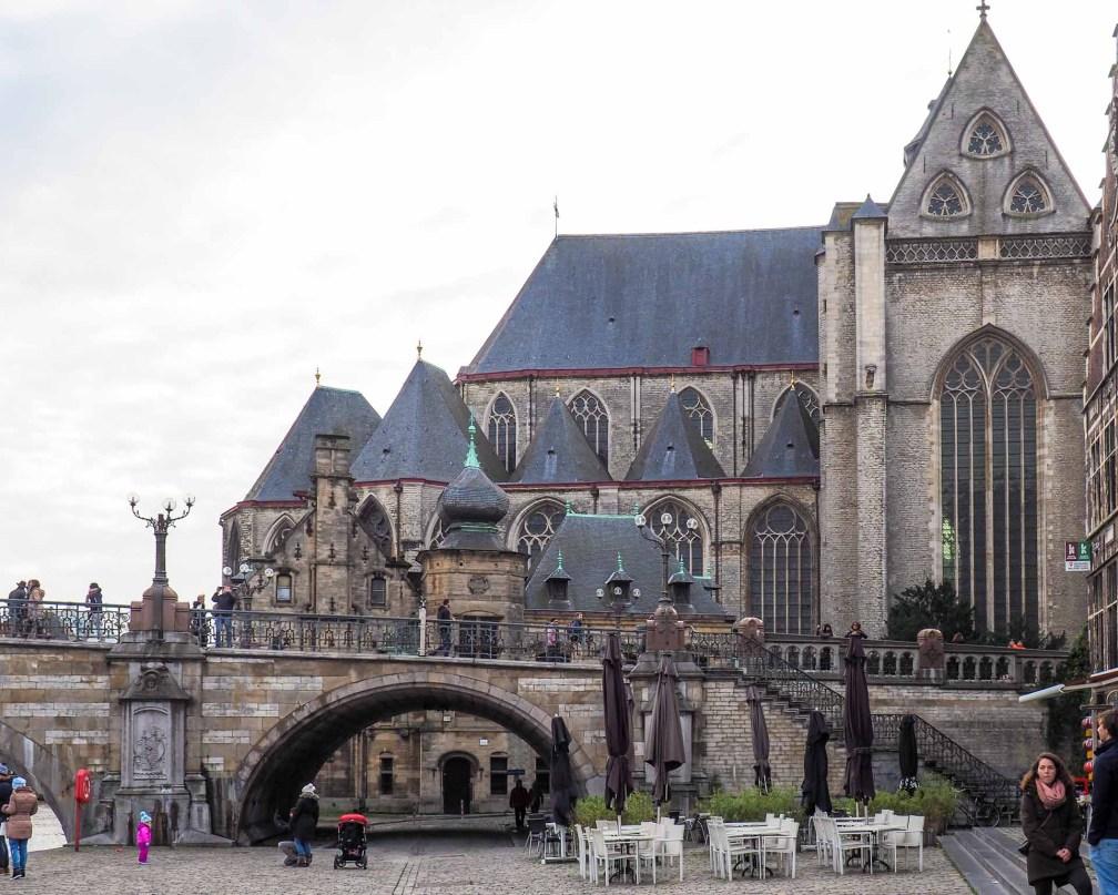 Михайловский мост Как увидеть Гент за один день (или полдня) Как увидеть Гент за один день (или полдня) ghent michaels bridge