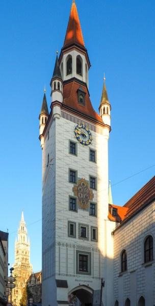 Старая ратуша Идеальный Мюнхенский маршрут Идеальный Мюнхенский маршрут munich old town hall