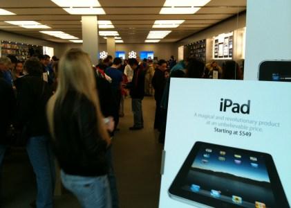 偷瞄一眼iPad