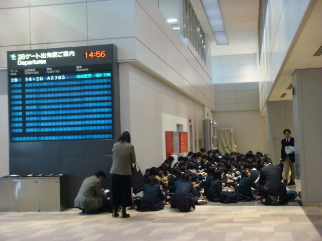 {日本旅遊} 成田機場印象
