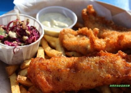 溫哥華美食|來去釣魚!Go Fish的美味炸魚片