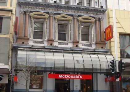 {收藏麥當勞} 紐西蘭奧克蘭 Queen's Street 麥當勞