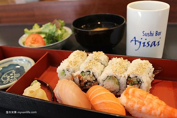 溫哥華美食 加拿大籍的日本「阿基師」,Ajisai Sushi Bar