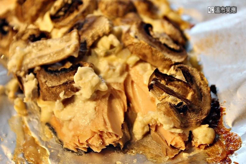 海馬爸廚房|法式蘑菇烤鮭魚