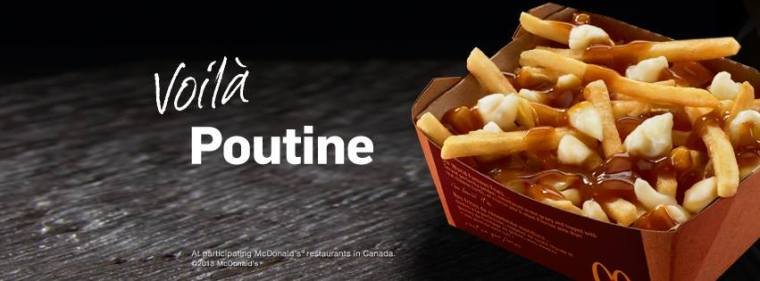 official McD Poutine Pic