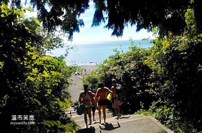 溫哥華旅遊|裸體海灘上的台灣之「光」