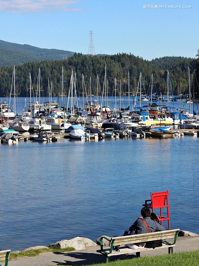 溫哥華旅遊|平靜如湖的小海灣,Deep Cove印象