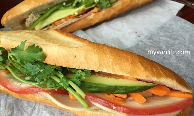 溫哥華美食|西貢越南三明治