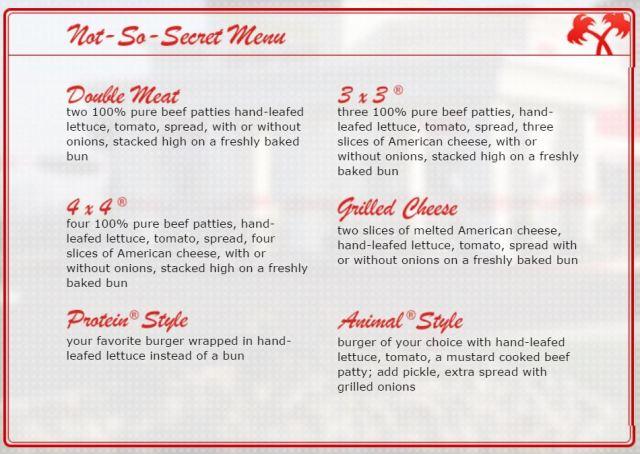 not-so-secret-menu