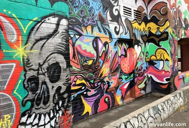 {多倫多行旅} 讓我們用力噴漆吧!歡迎來到多倫多塗鴉巷,街頭藝術家的天堂