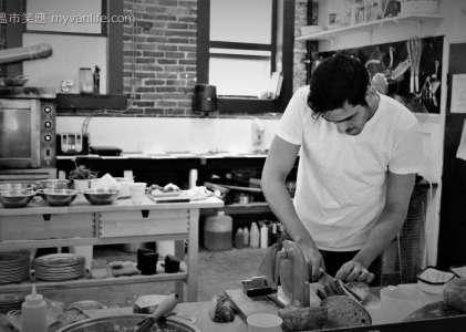 溫哥華美食 天地一沙鷗,遊民街區旁的咖啡館
