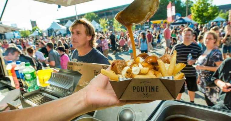 加拿大美食普汀Poutune肉汁乳酪薯條
