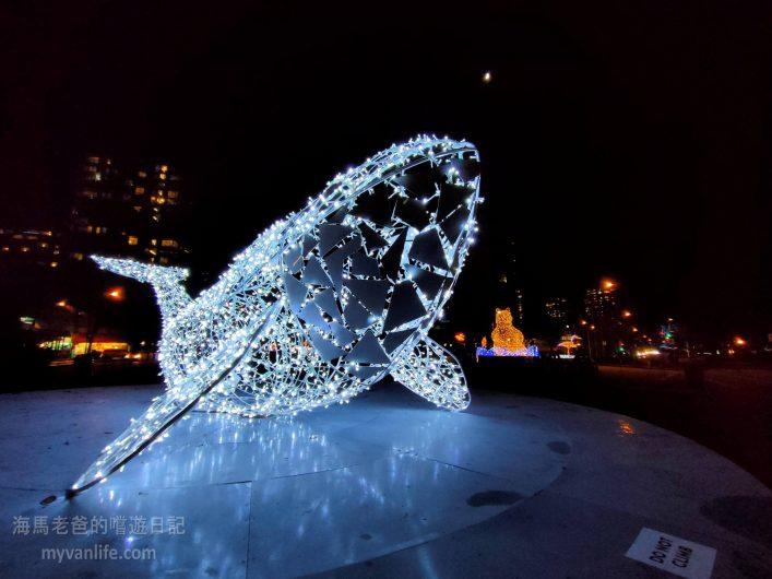 溫哥華節慶燈飾