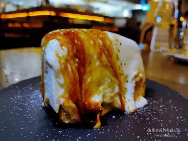 大溫地區推薦本那比Burnaby拉麵店Ramen ZUBU日式拉麵餐廳烤起司蛋糕