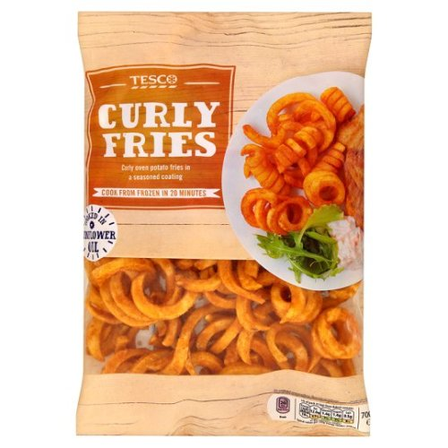 Tesco Curly Fries 700G
