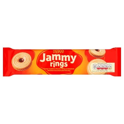 tesco jammy rings