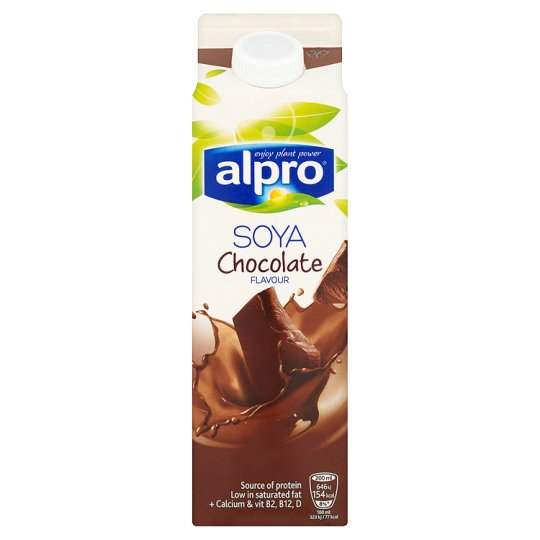 Alpro Fresh Chocolate Soya Milk Alternative 1 Litre My