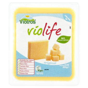 Free From Violife Block Cheese Alternative 200G