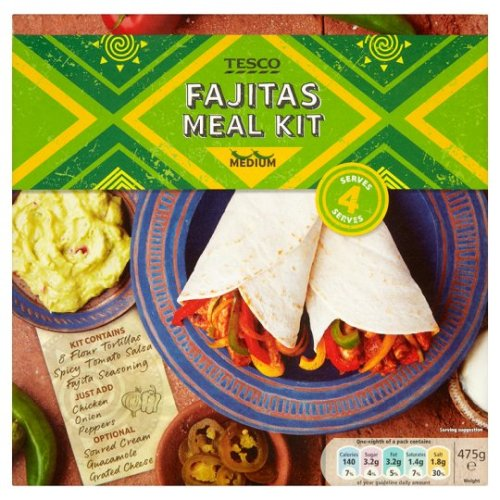 Tesco Fajita Meal Kit