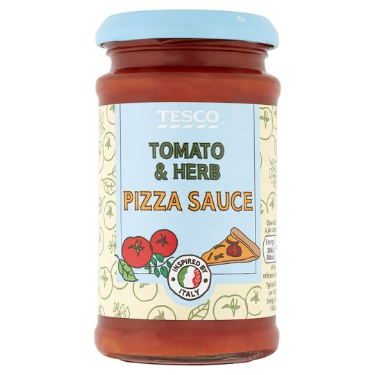 Tesco Tomato And Herb Pizza Topper 200g My Vegan Supermarket