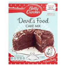 Betty Crocker Devils Food Cake Mix 425G