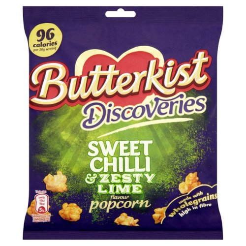 Butterkist Sweet Chilli & Zesty Lime Popcorn 80g