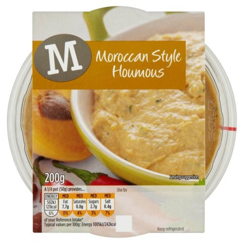 Morrisons Moroccan Style Houmous 200g