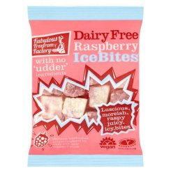 New - Fabulous Free From Factory Dairy Free Raspberry Ice Bites 75g