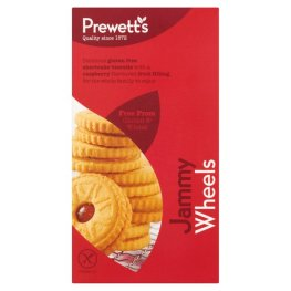 New - Prewetts Free From Jammy Wheels 160g