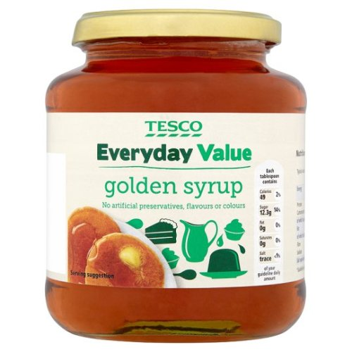 Tesco Everyday Value Golden Syrup 680G