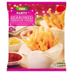 ASDA Party Seasoned French Fries