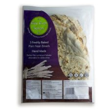 The Clay Oven Bakery Ltd 3 Plain Naan Breads