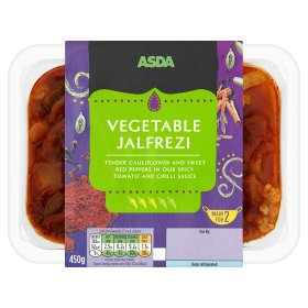 ASDA Vegetable Jalfrezi Main for 2