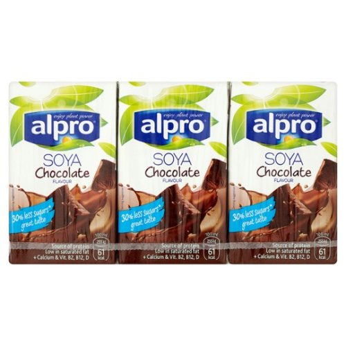Alpro Longlife Chocolate Shake 3X250ml