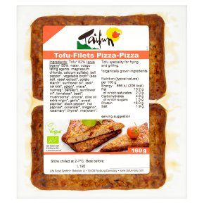 Taifun tofu-filets pizza-pizza 160g