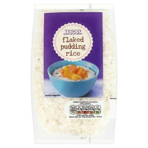 Tesco Flaked Pudding Rice 250G