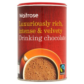 Waitrose luxuriously rich drinking chocolate 250g