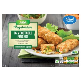 ASDA Vegetarian 16 Vegetable Fingers