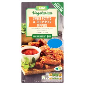 ASDA Vegetarian Sweet Potato & Red Pepper Dippers