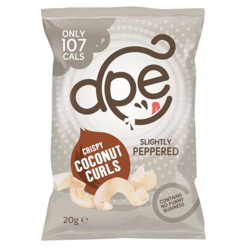 Ape Slightly Peppered Coconut Curls 20g