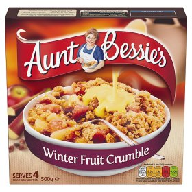 Aunt Bessie's Winter Fruit Crumble