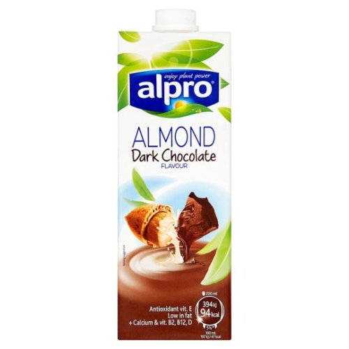 Alpro Longlife Chocolate Almond Milk Alternative 1 Litre