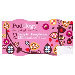 Pudology Simply Sumptuous Millionaires' Puds 2x85g