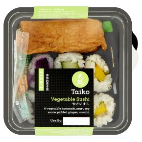 Taiko Veggie Vegetable Sushi 134g