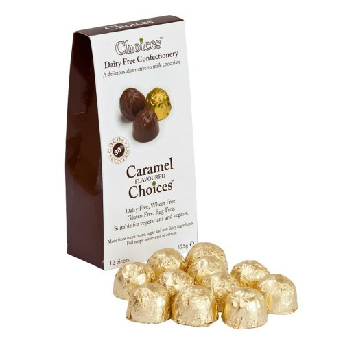Choices Dairy Free Caramel Choices x12 125g
