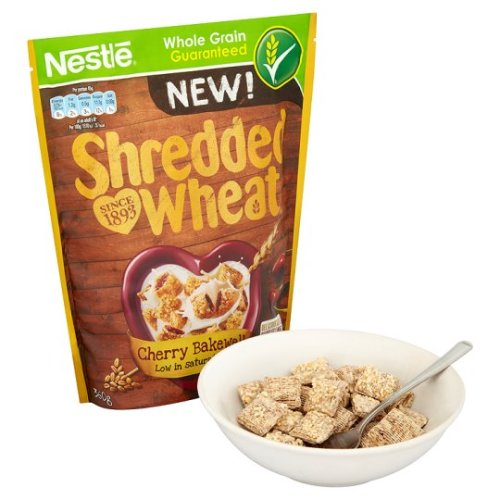 Nestle Shredded Wheat Cherry Bakewell 360G